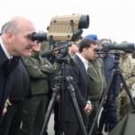 Bakan Soylu, Ukrayna'da tatbikata katıldı