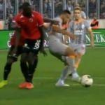Galatasaray'ın maçında damga vuran pozisyon