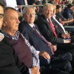 Aziz Yıldırım milli maçı statta izledi