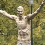 Ibrahimovic'in heykeli dikildi