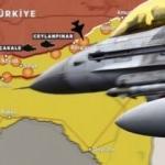 TSK hedef büyüttü! F-16'lar vurdu, oradan da harekat başladı