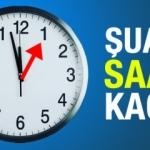 27 Ekim şuan saat kaç? Türkiye'de kış saati uygulamasına geçiş...