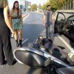 Zincirlikuyu'da kadın sürücüden şoke eden hareket! Kaza sonrası...