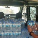 Su şişesi içinde sahte içki satışına 3 gözaltı