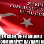 Cumhuriyet Bayramı mesajları: En anlamlı 29 Ekim mesajları
