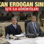 Başkan Erdoğan'dan sürpriz ziyaret! Sınıra indi