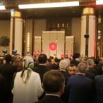 Külliye'deki '29 Ekim' kabul töreni Kur'an-ı Kerim tilavetiyle başladı