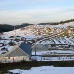 Ardahan'a kış geldi: Sıcaklık -7 dereceye düştü