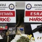 Denizli'de uyuşturucuya 13 tutuklama