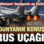 Dünyanın konuştuğu Rus uçağı! Dışarı ihraç edilmiyor kimse bilmiyor...