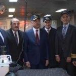 Fuat Oktay ve bakanlardan TCG Yavuz'a ziyaret!