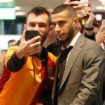 Galatasaray kafilesi Madrid'de