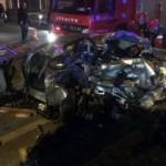 Sakarya'da feci kaza! Bir aile yok oldu