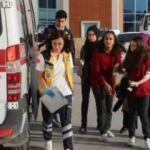 17 öğrenci ve 1 öğretmen hastanelik oldu!
