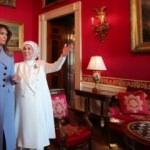 Emine Erdoğan, Melania Trump ile bir araya geldi