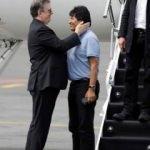 Morales Meksika'da böyle karşılandı