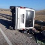 Sivas'ta feci kaza: 1 ölü 6 yaralı