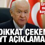 MHP lideri Bahçeli'den son dakika EYT açıklaması