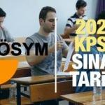 2020 KPSS sınavı ne zaman? ÖSYM memurluk sınavı takvimi yayımlandı!
