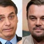 Bolsonaro'dan DiCaprio iddiası: Tüm bunlar için para verdi