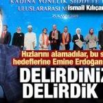 Hızlarını alamadılar, bu sefer de hedeflerine Emine Erdoğan'ı koydular