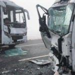 Kars'ta feci kaza! Ortalık savaş alanına döndü