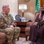 Milley Veliaht Prens Bin Selman ile görüştü