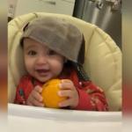 Alişan erken saatte uyanan Burak bebeğin sevimli hallerini paylaştı!
