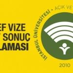 AUZEF vize sınav sonuçları için açıklama geldi! İstanbul Üniversitesi sorgu sayfası