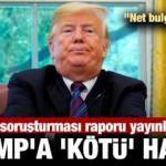 Azil soruşturması raporu yayınlandı... Trump'a 'kötü' haber