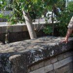 Camideki musalla taşı, Roma dönemine ait lahit çıktı