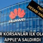 Huawei Twitter hesabı hacklendi: Hackerlar Apple'a saldırdı!