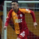 Galatasaray'da 16'lık Emin Bayram sahaya indi