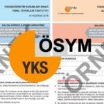 2020 YKS sınavı ne zaman | ÖSYM üniversite sınavı aday başvuru formu