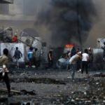 Irak'ta göstericiler trafiğe kapatmıştı! Yeniden açıldı