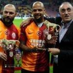 Melo ve Ujfalusi Türk Telekom Stadı'nda