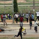 Nijerya grev nedeniyle ışıksız kaldı!