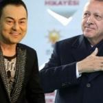 Serdar Ortaç, Erdoğan'a övgü yağdırdı