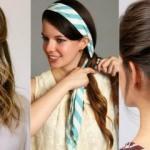 2020 En kolay saç modelleri hangisi? Evde kolay saç bağlama