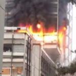 Devlet Su İşleri'nde korkutan yangın