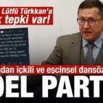 İYİ Partili Lütfü Türkkan'ın kızından içkili ve eşcinsel dansözlü noel partisi!