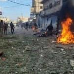 PKK/YPG'nin tuzakladığı mayın patladı! 2 ölü