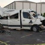 Samsun'da öğrenci servisi takla attı: Çok sayıda yaralı var