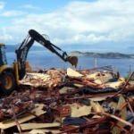 Ekipler tespit etti! Kaçak yapılar yıkıldı