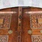 Restorasyon skandalı: Kapıdaki ayetler ters konulmuş