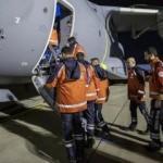 Sağlık personelini taşıyan TSK'ye ait uçak Mogadişu'ya ulaştı