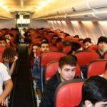 Tuncelili 2 bin 119 öğrenci uçakla Türkiye'yi gezdi