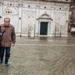 Venedik'te ne sular ne de turistler duruyor