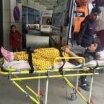Ceviz kabuğu yaktılar: 6 kişilik aile hastanelik oldu