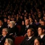 Cumhurbaşkanı Erdoğan, Leyla ile Mecnun oyununu izledi